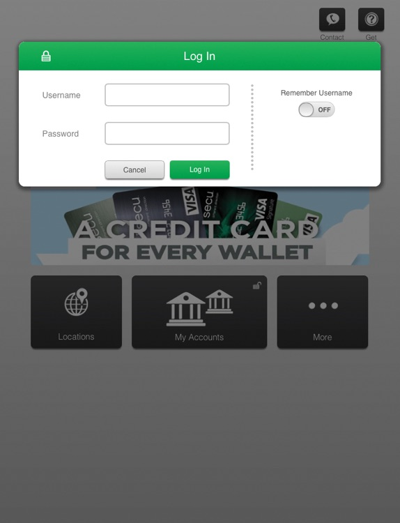 SECU Mobile (Maryland) for iPad