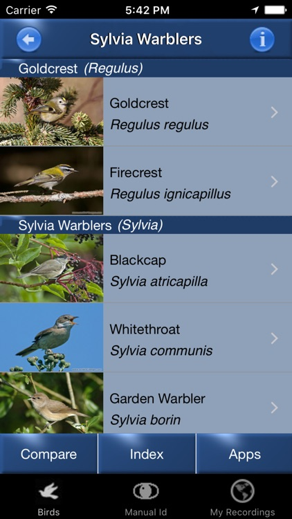 Bird Song Id Automatic Recognition & Reference - Birds of the British Isles screenshot-4