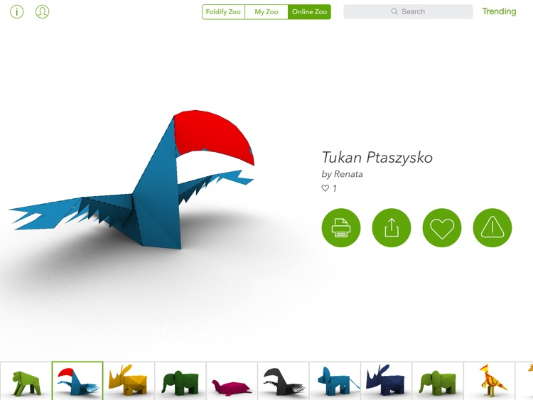 Foldify Zoo - Create & Print screenshot-4
