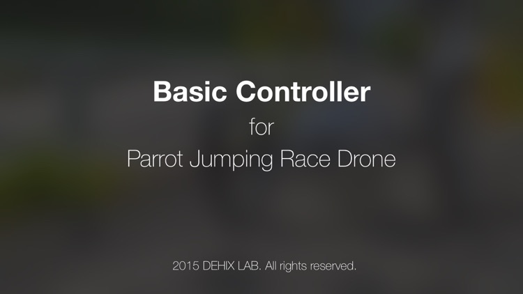 Basic Controller for Jumping Race Drone screenshot-4