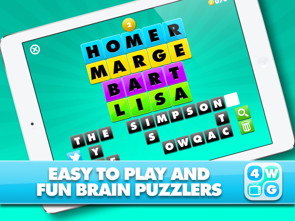 4 Word TV Game HD - Find the link and guess the TV show hack tool