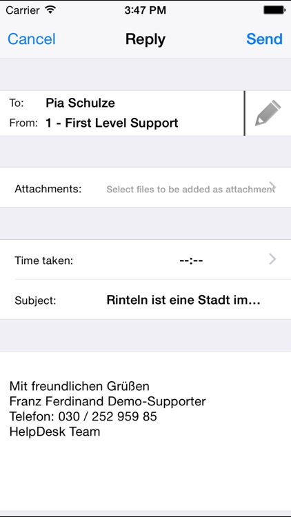 i-net HelpDesk - mobile access to your ticketing system screenshot-4