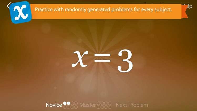 Algebra Touch screenshot-1
