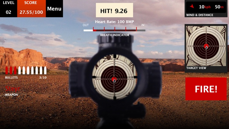 Canyon Shooting - a Real Shooting Range FPS Simulator