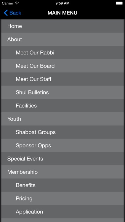 Shaarei Tefillah Congregation screenshot-4