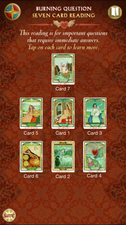 Love Tarot - Full version screenshot-3