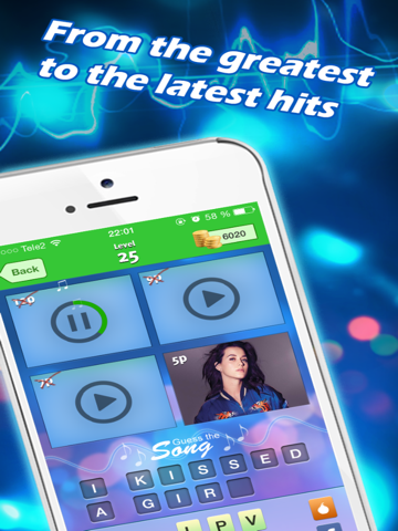 Screenshots of Guess The Song - New music quiz! for iPad