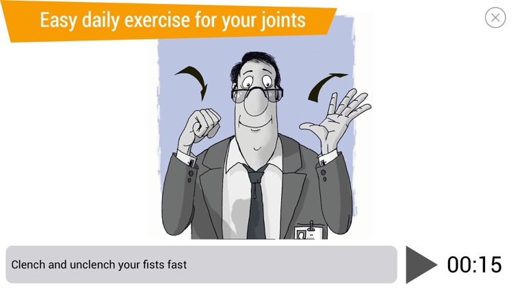 Office Ninja: exercises for joints screenshot-0