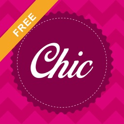 Monogram Chic FREE - Custom Wallpapers, DIY Backgrounds and Fashion Badges