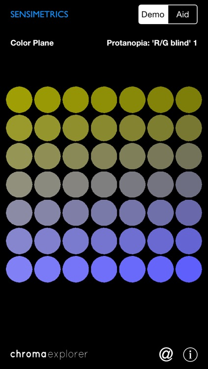 ChromaExplorer - Color Vision and Colorblindness Simulator and Aid screenshot-3