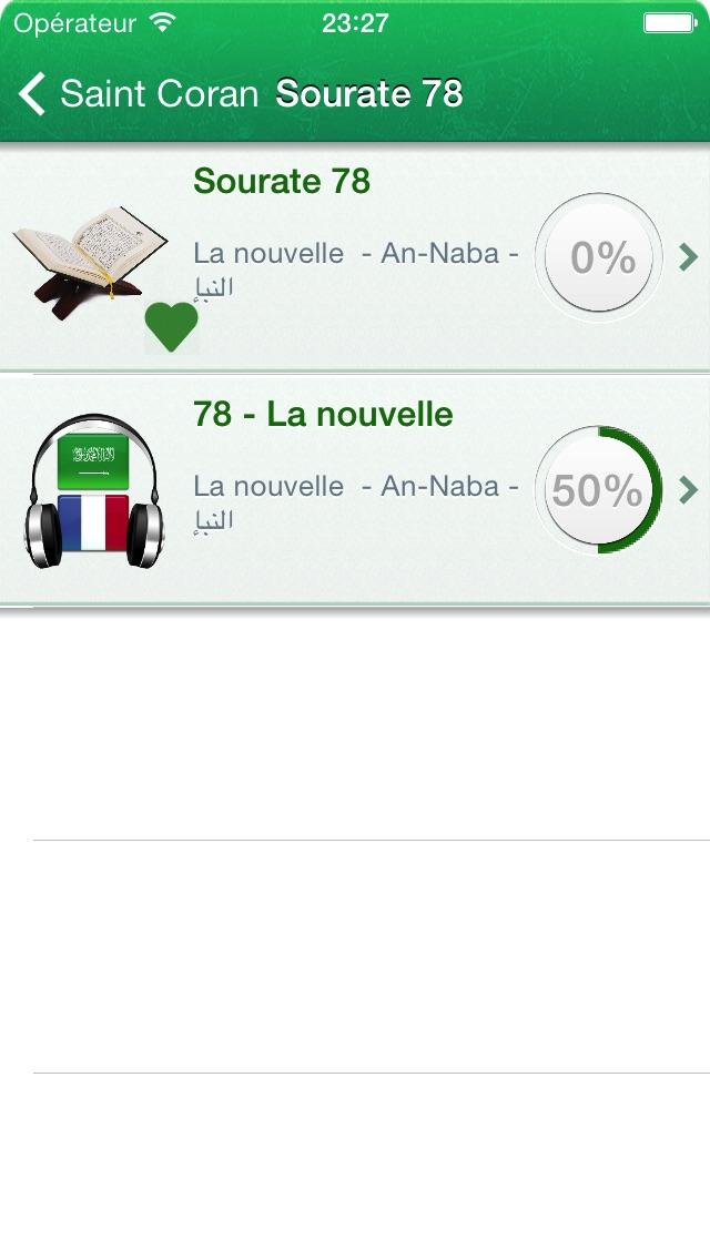 download Coran en Français, en Arabe et en Phonétique + Juz Amma en Audio Arabe et Français apps 1