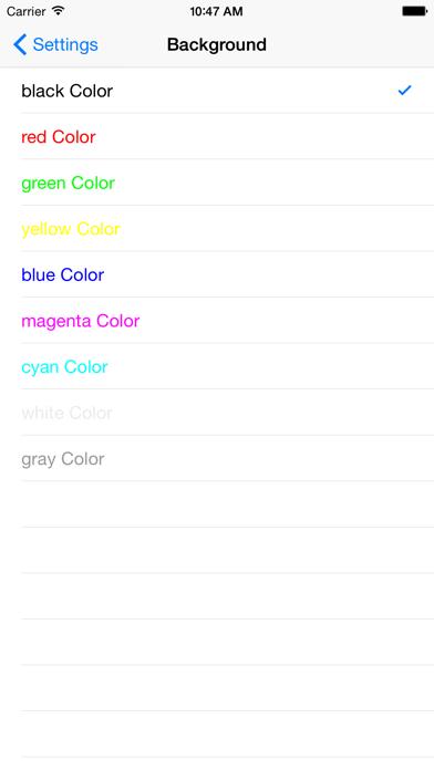 SSH-Terminal Screenshots