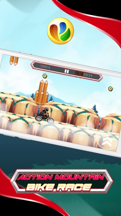 Action Mountain Bike Racing Game screenshot-3