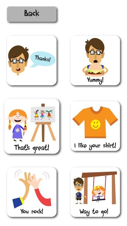 Compliments Social Story & Speech Tool screenshot-4