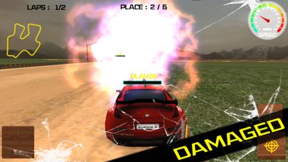 自由のための3D戦闘走行速度シューティングゲームのおすすめ画像2