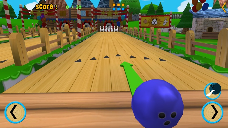 pandoux bowling for kids - no ads screenshot-3