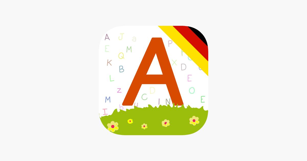 Aplikacja Alphabet und Wortschatz Buch für Kinder