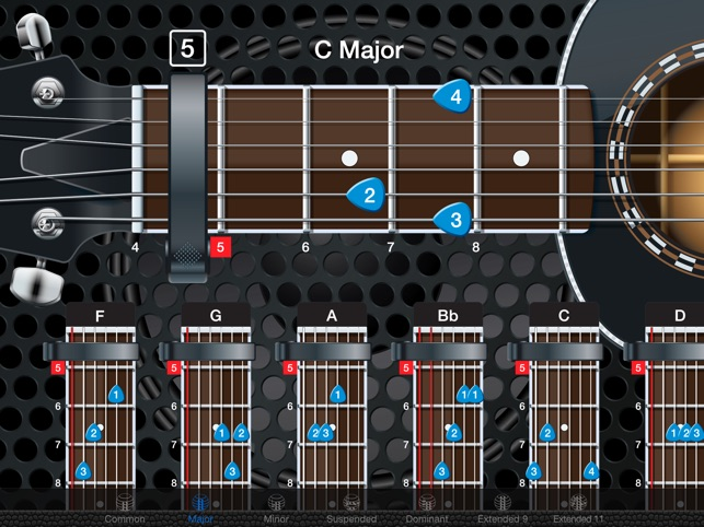 Capo Acoustic Guitar Chords And Tabs On The App Store