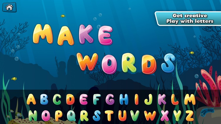 My Alphabet: Underwater ABC for Kids Free