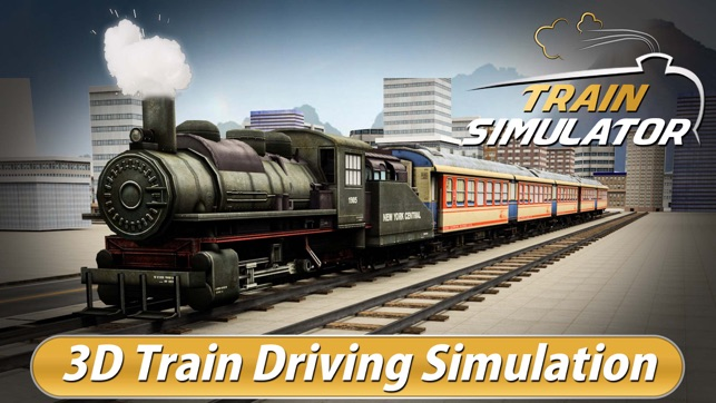 vrai train simulateur de conduite 3d train express pilote jeu parking de simulation dans l. Black Bedroom Furniture Sets. Home Design Ideas