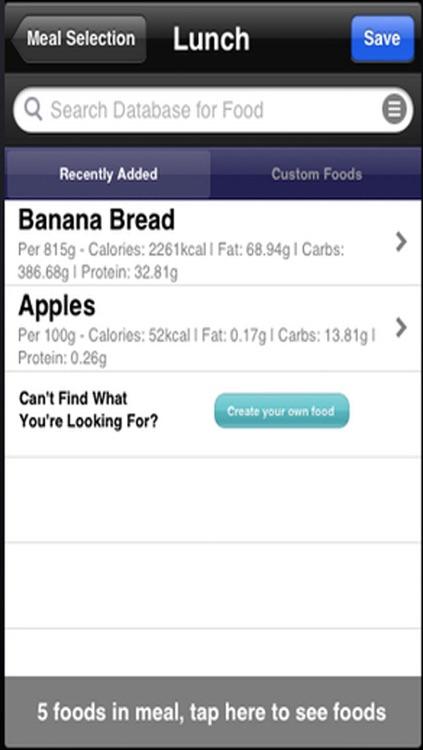 Food Diary - Best Weight Loss Management Tool screenshot-3