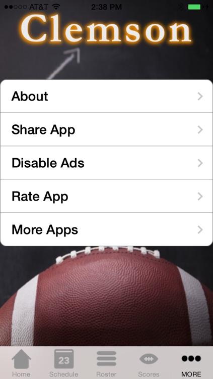 College Sports - Clemson Football Edition screenshot-3