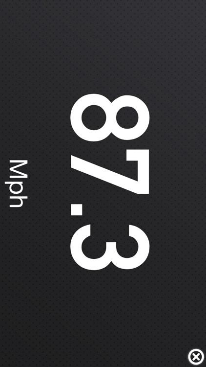 HUD Speedometer - Heads Up Display screenshot-3