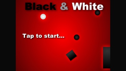 Black N White Game - impossible swype to move and avoid dark