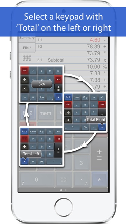 Adding Machine 10Key iPhone screenshot-2