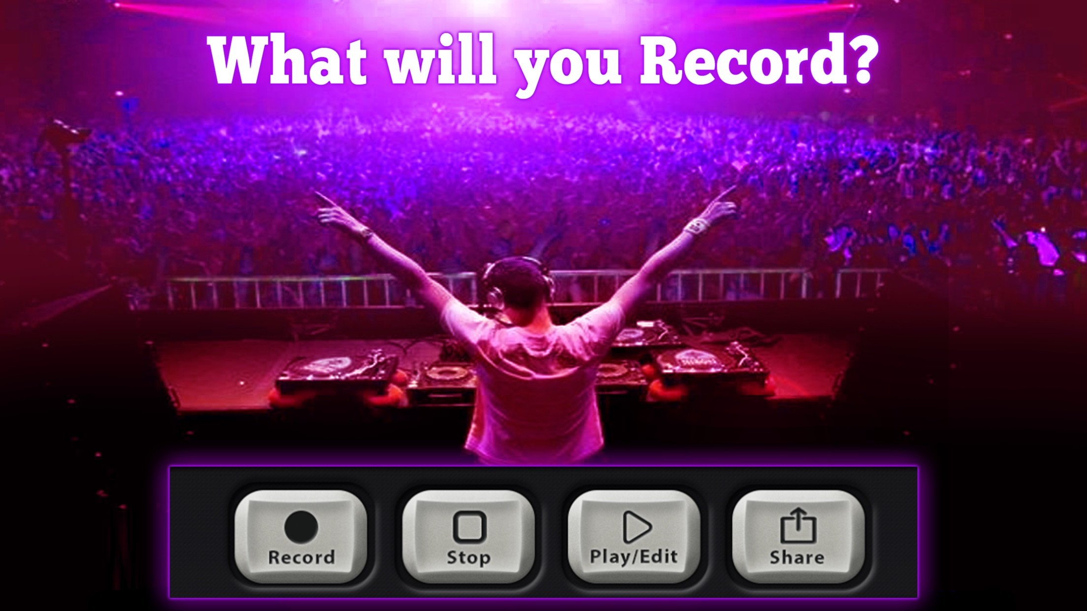 Dubstep and Electronic Maker with Audio Recording Screenshot