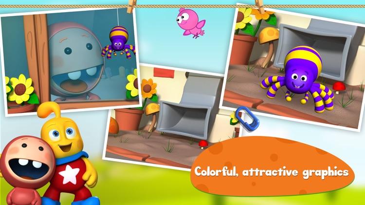 Itsy Bitsy Spider: 3D Interactive Story Book For Children in Preschool to Kindergarten HD