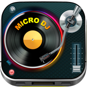 Micro DJ Free - Party music audio effects and mp3 songs editing icon