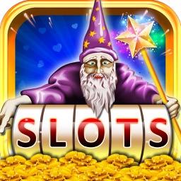 Wizard of Slots Machine - Wonderful and Magical Casino Bonus Game