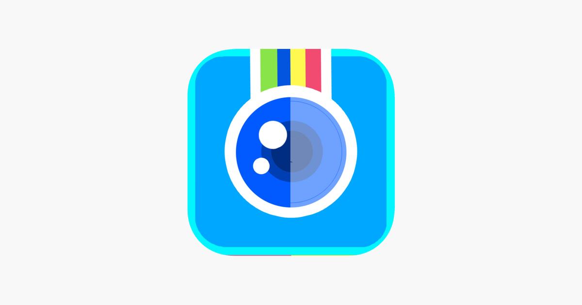 Instant Photo-lab! Best mirror image pics editor to split
