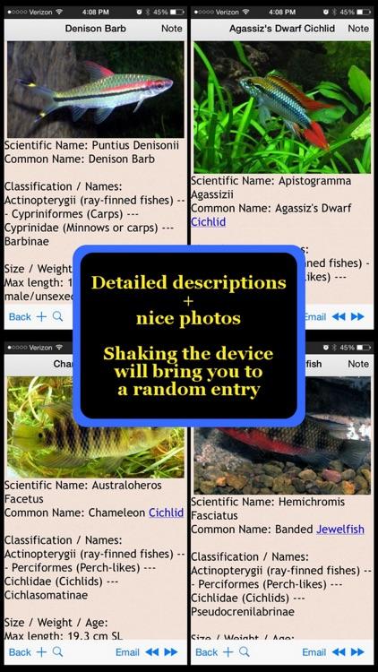 Tropical Fish Bible+ screenshot-4
