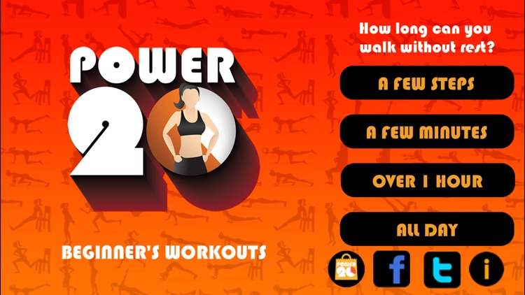 20 Minute Beginners Workout