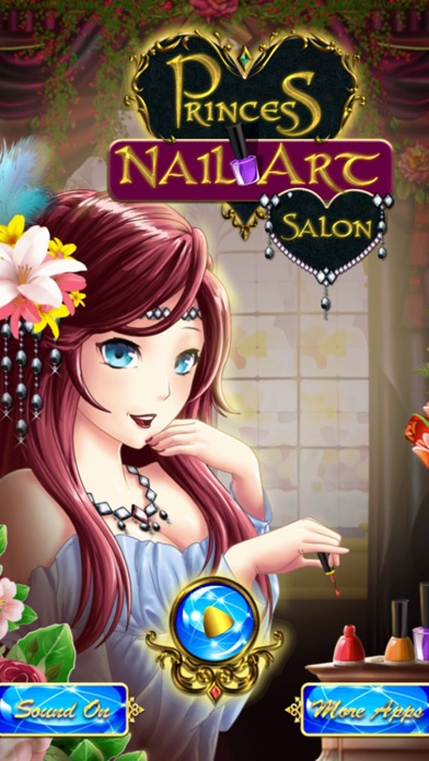 Princess Nail Art Salon Manicure Game For Girls By Stefano