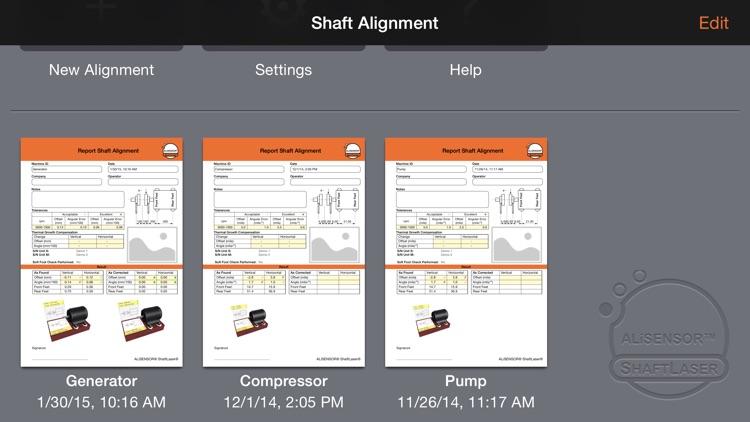 Shaft Alignment for ALiSENSOR® ShaftLaser®