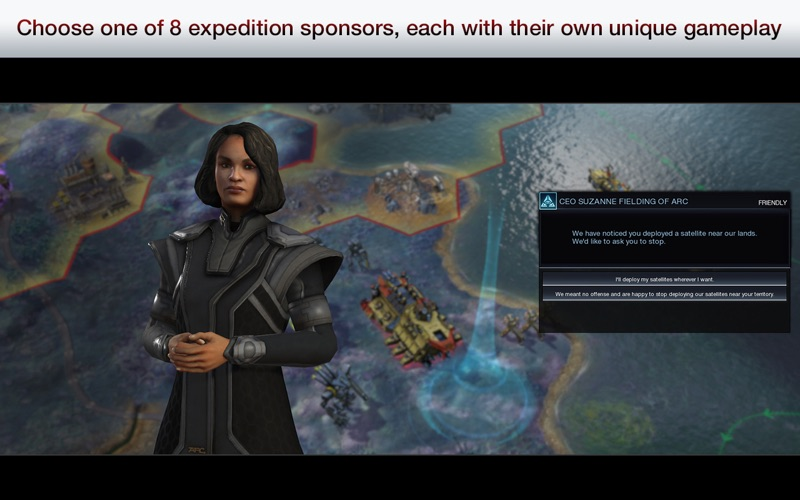 Screenshot #2 for Civilization: Beyond Earth