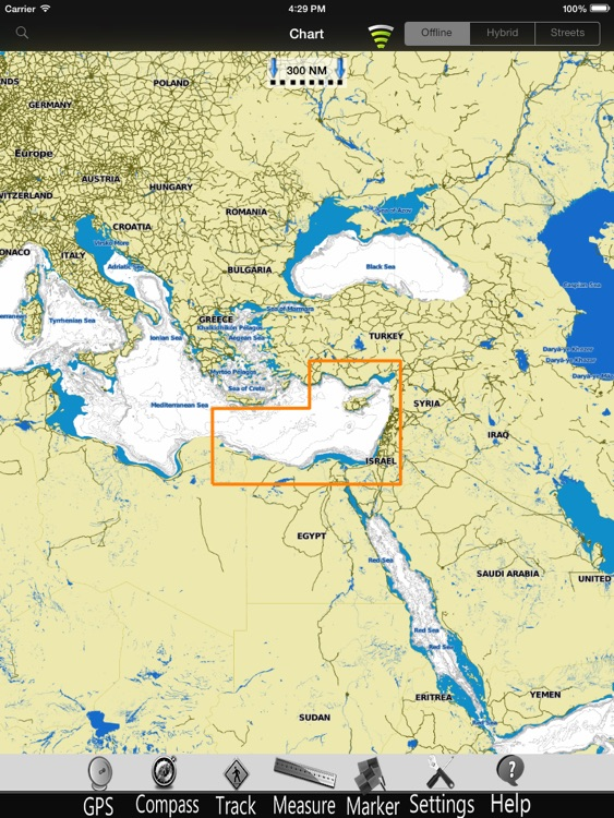 Mediterranean SE GPS Chart Pro screenshot-3