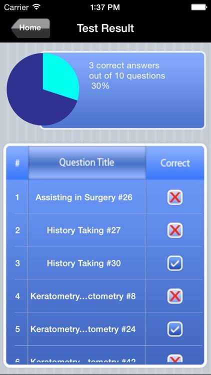 COA Ophthalmic Assistant Exam Prep screenshot-4