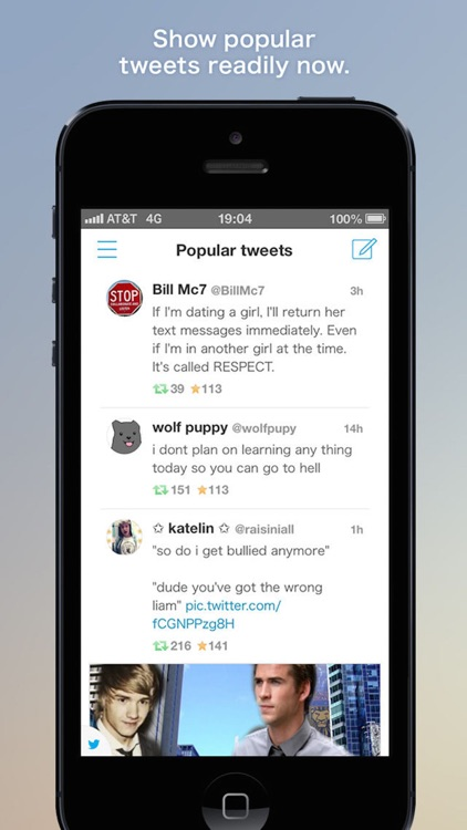 Falcon for Twitter - Twitter client that specializes in streaming search