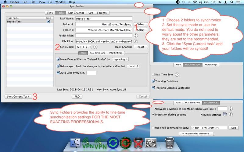 Screenshot #2 pour Sync Folders