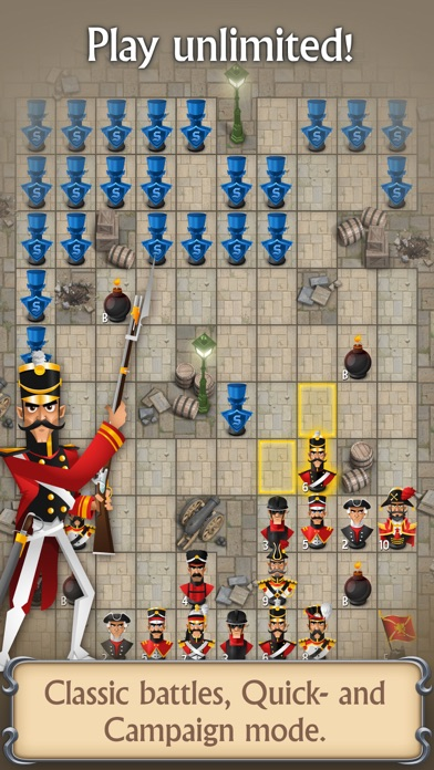 Screenshot for Stratego® Single Player in Belgium App Store