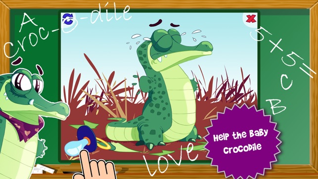 Animals Flip and Mix- ABC Cognitive Learning Game for Kindergarten and Preschool Kids Screenshot