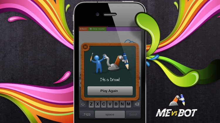 Sketch W Friends ~ Free Multiplayer Online Draw and Guess Friends & Family Word Game for iPhone screenshot-4