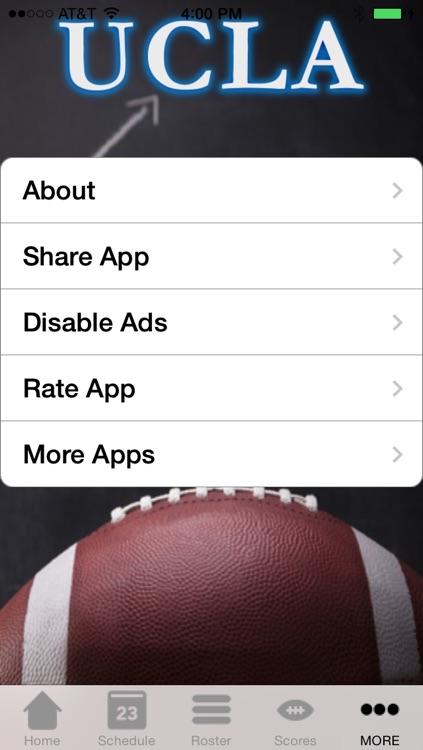 College Sports - UCLA Football Edition screenshot-3