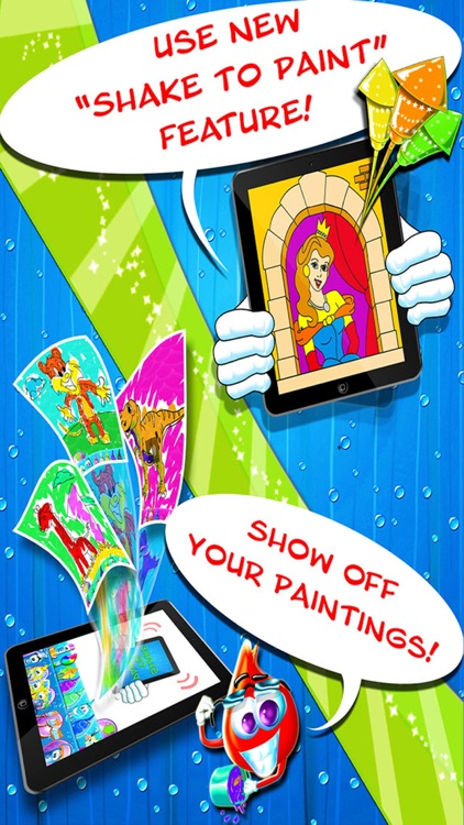 Color Drops - Children's Animated Draw & Paint Game HD! screenshot-3