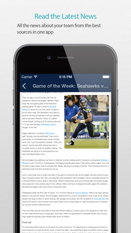 Seattle Football Alarm Pro screenshot-2