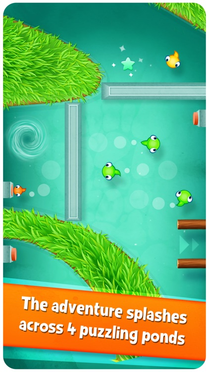 Tasty Tadpoles - Fun puzzle action for the whole family screenshot-3